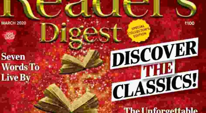 Readers Digest March 2020