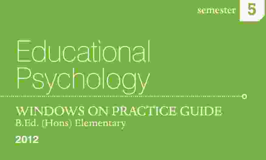 Educational Psychology Practice Guide