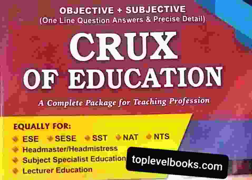 CRUX OF EDUCATION Objective