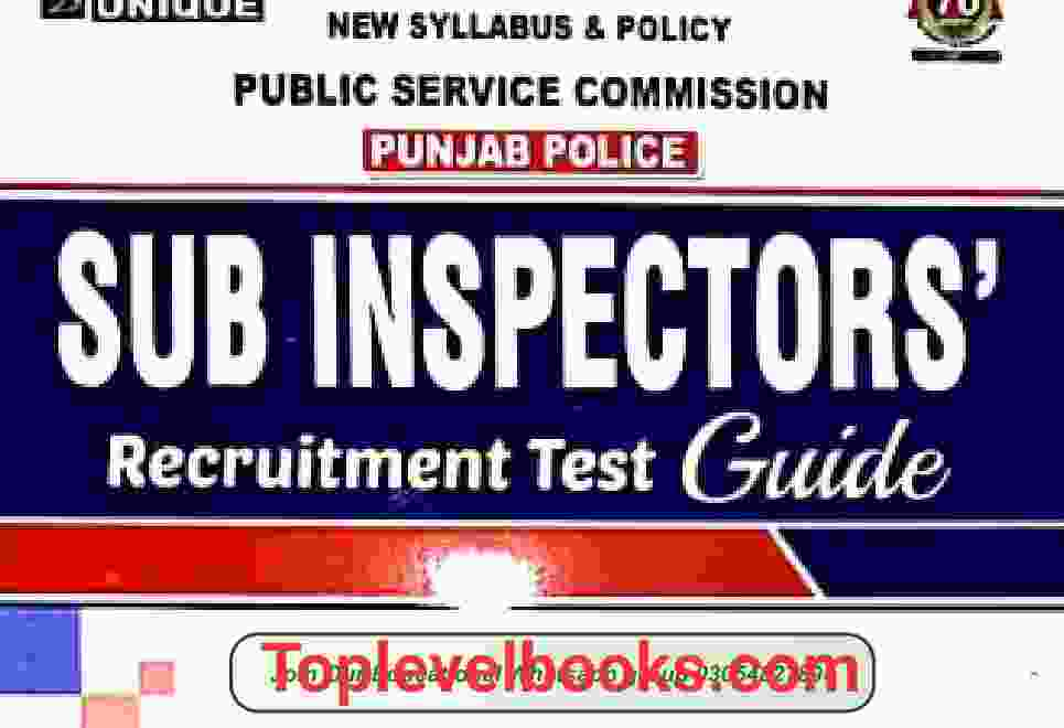 sub-inspector test guide